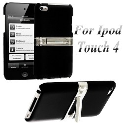 Coque Silver Line Chrome Stand Béquille ITOUCH 4 Couleurs Housse Etui
