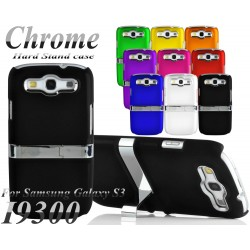 Coque Silver Line Chrome Stand Béquille SAMSUNG S3 i9300 Couleurs Housse Etui