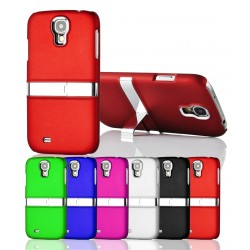 Coque Silver Line Chrome Stand Béquille SAMSUNG S4 i9500 Couleurs Housse Etui
