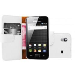 Coque Portefeuille Wallet SAMSUNG Galaxy Ace S5830 Couleurs Housse Etui
