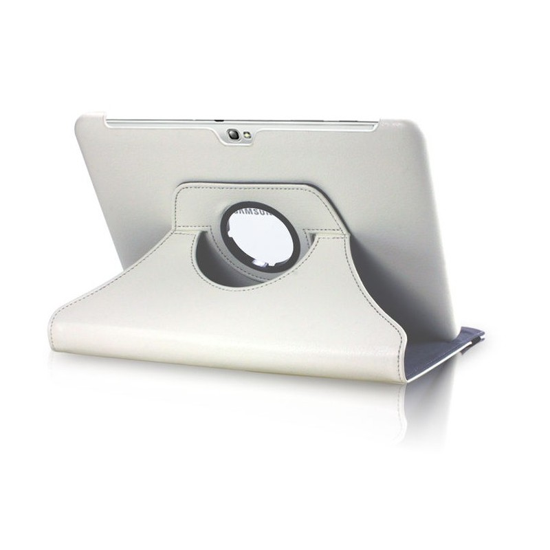 coque rotation 360 samsung note 10 1 tablette simili cuir housse de protection etui shot case. Black Bedroom Furniture Sets. Home Design Ideas
