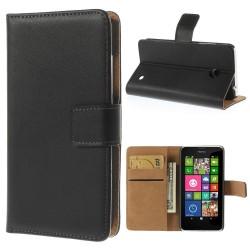 Coque Portefeuille NOKIA Lumia 630/635 APPLE Housse Etui Cartes Billets