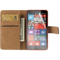 Coque Portefeuille NOKIA Lumia 1320 MICROSOFT Housse Etui Cartes Billets