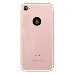 Coque Silicone IPHONE 7 Doigt d'honneur Fun APPLE Fuck Main Pomme Transparente Protection Gel Souple