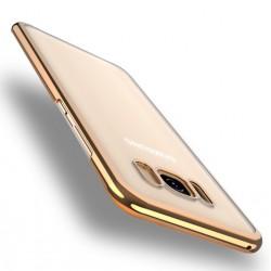 Coque Silicone Contour SAMSUNG Galaxy S8 Chromé Transparente Bumper Protection Gel Souple