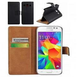 Coque Portefeuille Samsung Galaxy Core Prime Housse Etui Cartes Billets