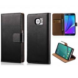 Coque Portefeuille Samsung Galaxy Note 5 Housse Etui Cartes Billets