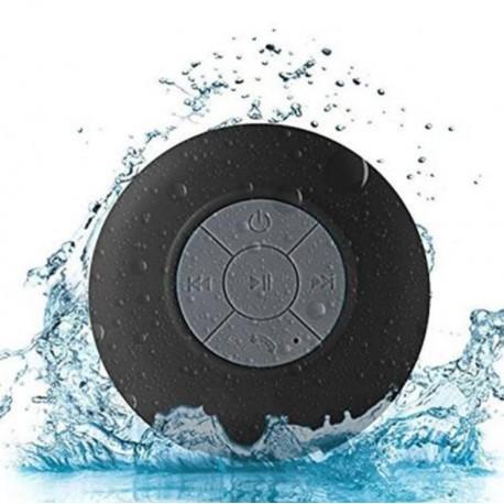 Enceinte Waterproof Bluetooth pour Smartphone Ventouse Haut-Parleur Micro Douche Petite
