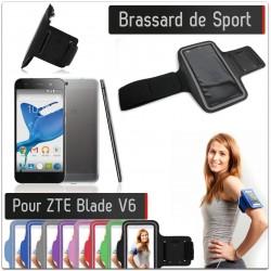 Brassard Sport ZTE Blade V6 Housse Etui Coque T4