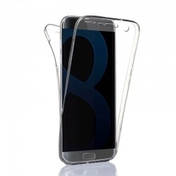 Coque Silicone Intégrale SAMSUNG Galaxy S8 Transparente Protection Gel Souple