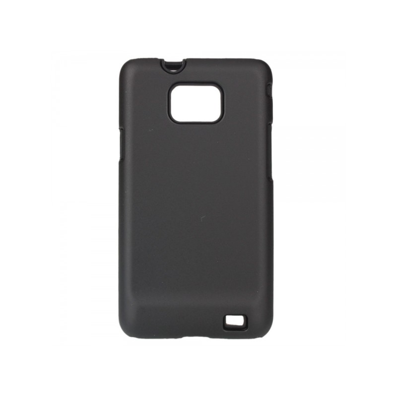Coque silicone samsung galaxy s2 i9100 souple simple noir for Housse samsung galaxy s2
