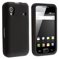 Coque Silicone SAMSUNG Galaxy Ace S5830 Souple Simple Noir Housse Etui