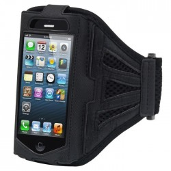 Brassard Sport IPHONE 3/3GS Respirant Armband Noir Housse Etui Coque