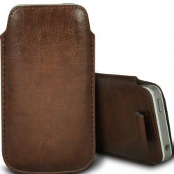 Pochette avec Languette IPHONE 5/5S Simili-cuir Pull up Etui Coque Housse